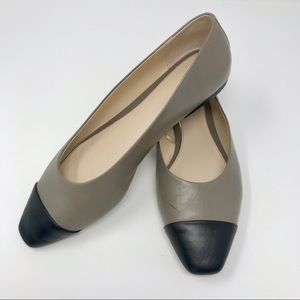 Zara Two Toned Flats US Size 8